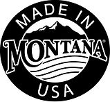 Made In Montana Badge. Based in Montana, USA Soy Candle Business
