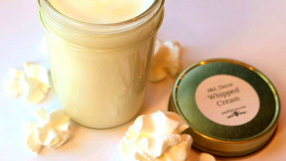 Whipped Cream 8 oz Candle