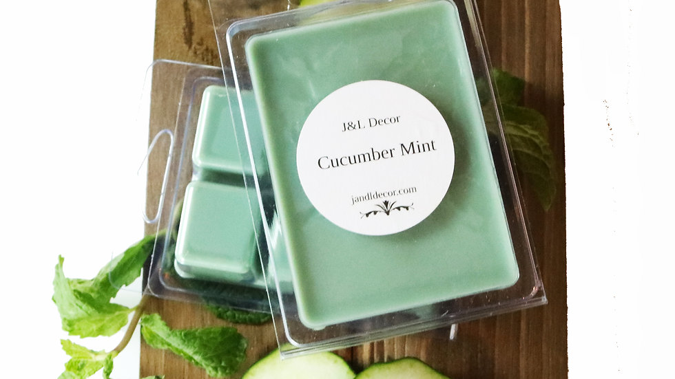 Cucumber Mint Wax Melt
