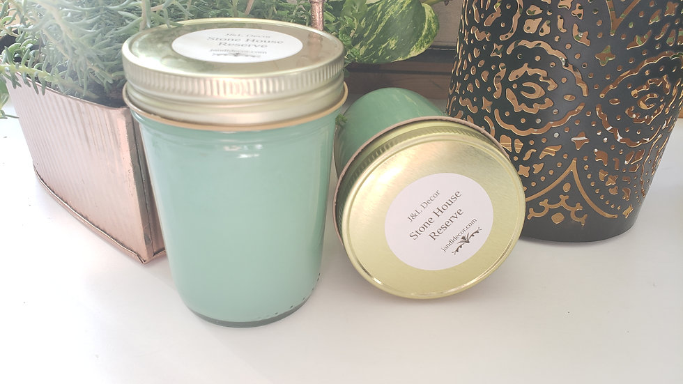 Stone House Reserve Scented 8 oz Candle