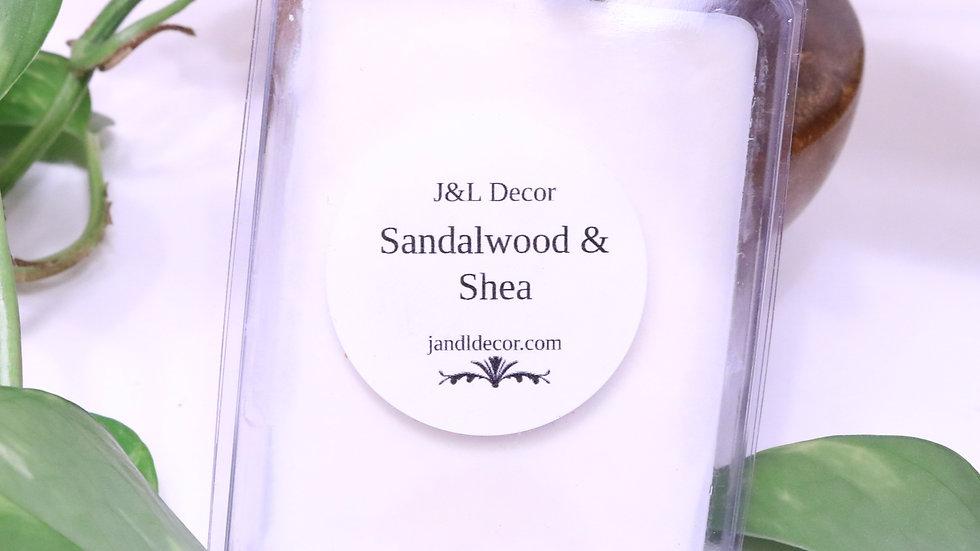 Sandalwood & Shea Wax Melt