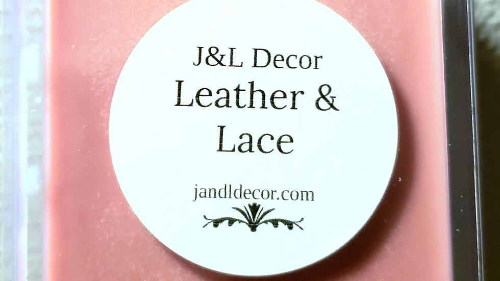 Leather & Lace 6 oz Wax Melt