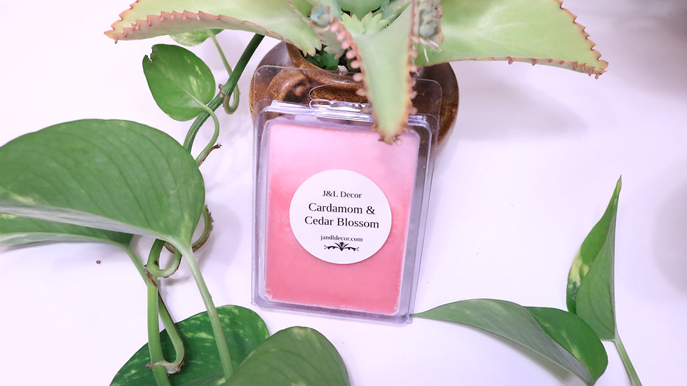 Cardamom Cedar Blossom 6oz Wax Melt