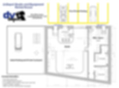 dvDepot Floor Plan of office space, studio, courtyard and free parking in Long Island City