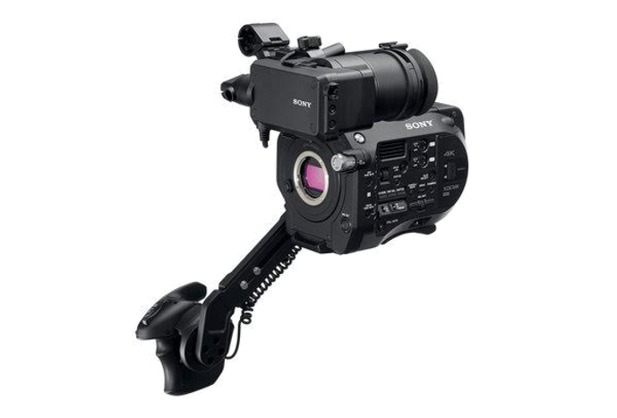Sony FS7 with EDCA-FS7 Extension Unit