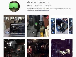 Follow @dvdepot on social media!