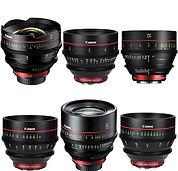 Canon Cine Prime Lenses