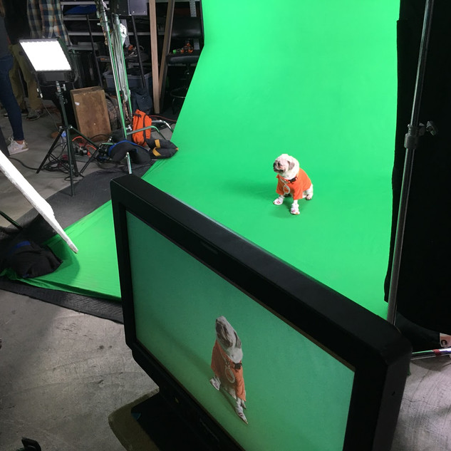 Nickelodeon Green Screen Shoot