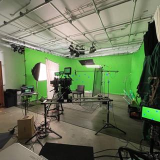 """___ That Built America"" History Channel Green Screen Studio Shoot"