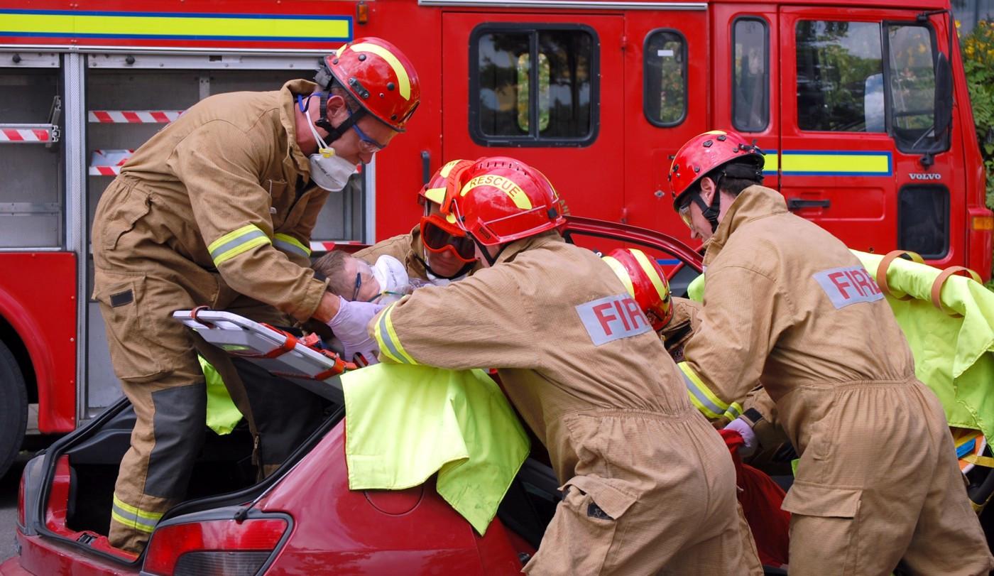 PDI - Fire Rescue by Colin Greenaway (12 marks)