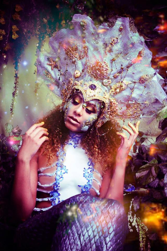 HMUA: Jesse Luxe Model: Jostlyne Marie Erbaugh Photographer: Christa Dickson Photography Wardrobe: Lory Sun Artistry (corset) RTFX by Lauryn Macgregor (headdress)