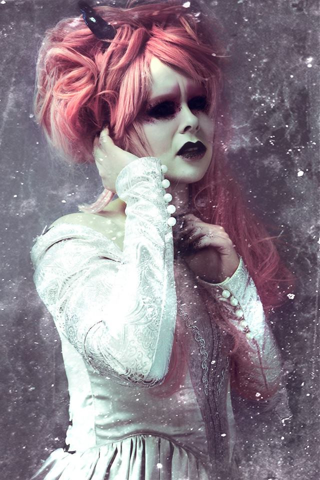 HMUA/Horns: Jesse Luxe Model: Valerie Scarlett Photographer: Christa Dickson Photography Wardrobe: Chemistry Fashions