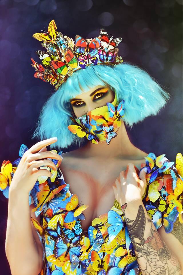 HMUA: Jesse Luxe Model: Valerie Scarlett Photographer/Wardrobe: Christa Dickson Photography