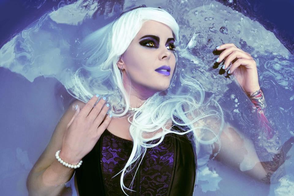 HMUA: Jesse Luxe Model: Valerie Scarlett Photographer: Christa Dickson Photography