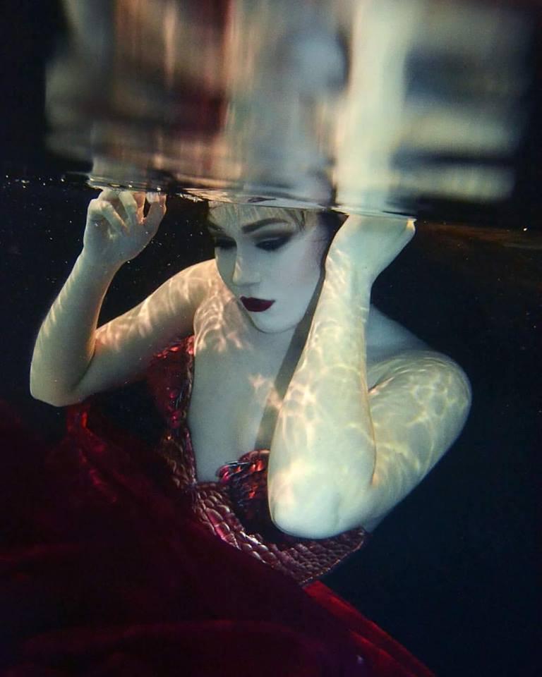 HMUA: Jesse Luxe Model: Erin Hurt Photographer: Christa DIckson Photography Wardrobe: Jane's Corsets