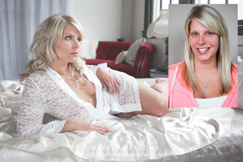 HMUA: Jesse Luxe Model: Melissa Pack Photographer: Kimberly Meadows (Dirty Girl Boudoir)