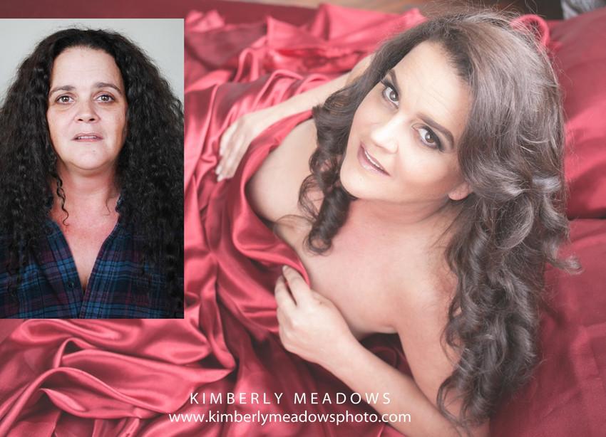 HMUA: Jesse Luxe Model: Katie Tierney Photographer: Kimberly Meadows (Dirty Girl Boudoir)