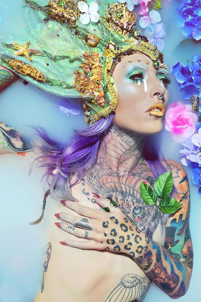 HMUA: Jesse Luxe Model: Elizabeth A. Fox Photographer: Christa Dickson Photography Wardrobe: RTFX by Lauryn Macgregor