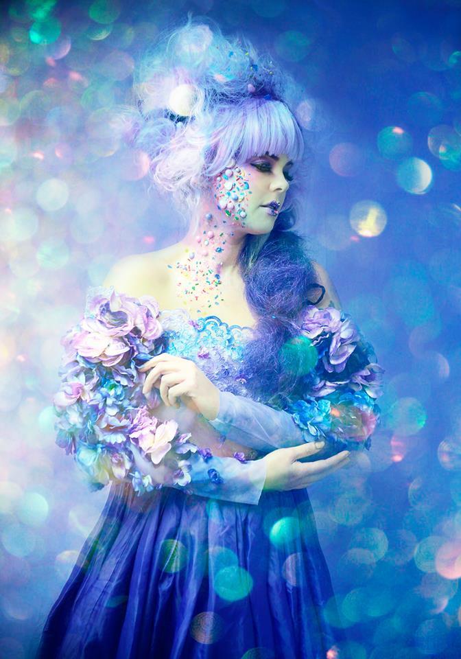 HMUA: Jesse Luxe Model: Valerie Scarlett Photographer: Christa Dickson Photography Wardrobe: Lory Sun Artistry