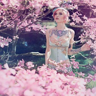 HMUA: Jesse Luxe Model: Nikki Roeder Photographer: Winter Wolfe Wardrobe: Mia Von Mink