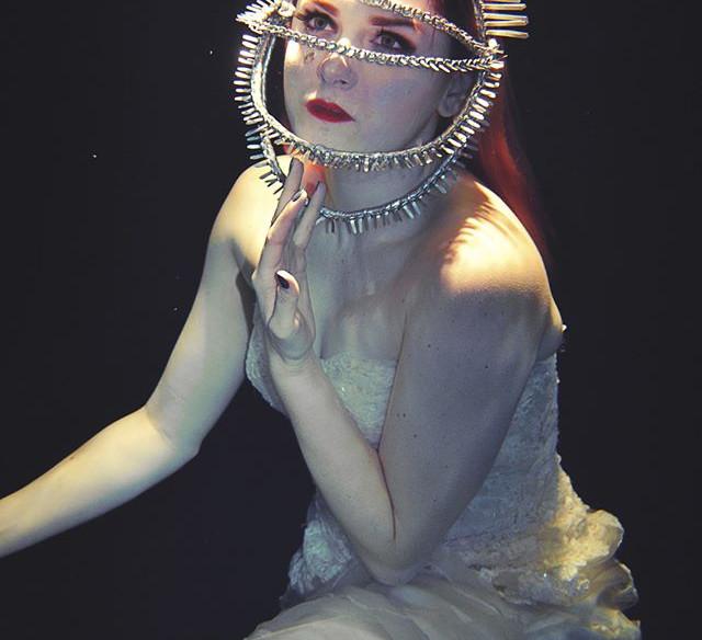 HMUA: Jesse Luxe Model: Brittany Loren Photographer: Christa DIckson Photography Wardrobe: Nigel Nigel (Headdress)