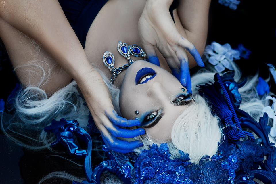 HMUA: Jesse Luxe Model: Elli Fox Photographer: Christa Dickson Photography Wardrobe: Au Contraire Photography Jewelry: Cultist Crafts