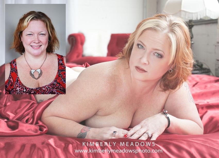 HMUA: Jesse Luxe Model: Kimmie Sander Photographer: Kimberly Meadows (Dirty Girl Boudoir)