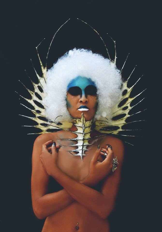 HMUA: Jesse Luxe Model: Holly Havoc Photographer: Christa Dickson Photography Wardrobe: Nika Danielska Design