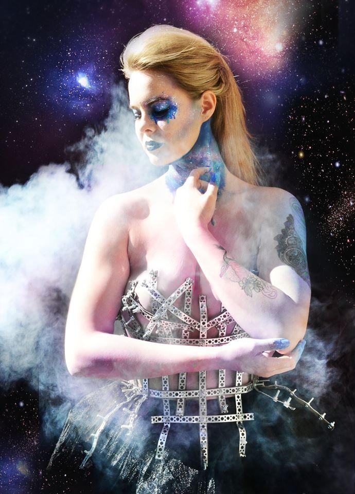HMUA: Jesse Luxe Model: Valerie Scarlett Photographer: Christa Dickson Photography Wardrobe: Mirjam Lehtonen