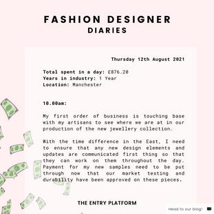 Fashion Designer Diaries: Day in the Life of Imani Asi
