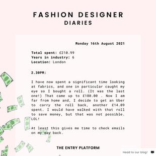 Fashion Designer Diaries: Day in the Life of Salima Ali