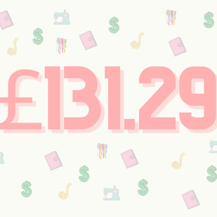Spending £131.29 in a day in London.