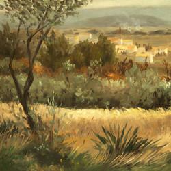 Le village de St-Pierre-de-Vassols