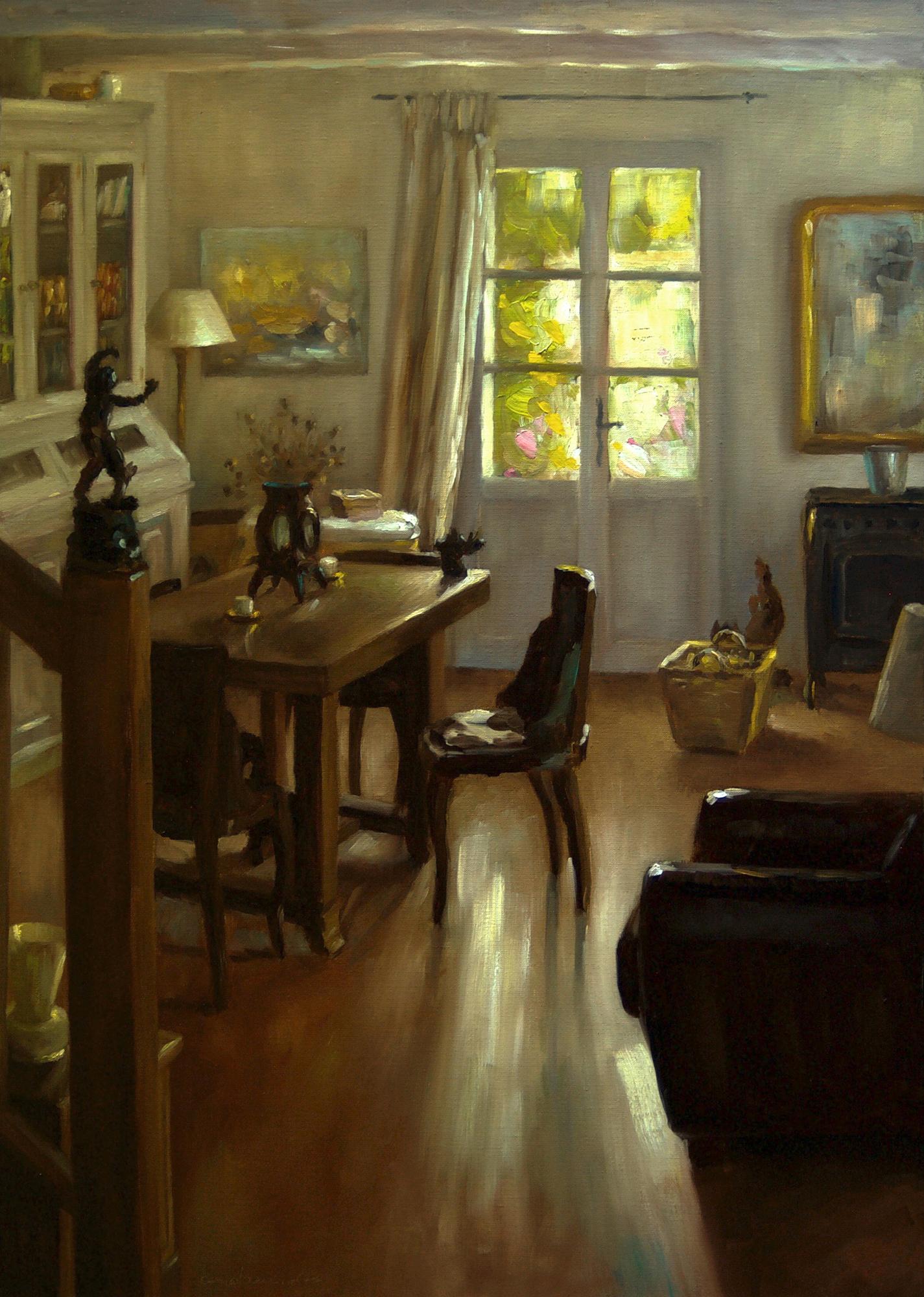 La salle à manger du peintre
