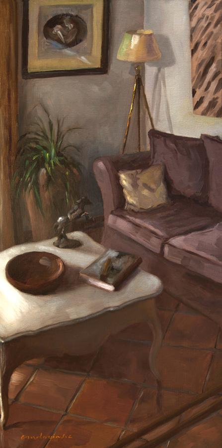 Au salon, chez le peintre