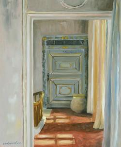 Dans le couloir du château de Gignac