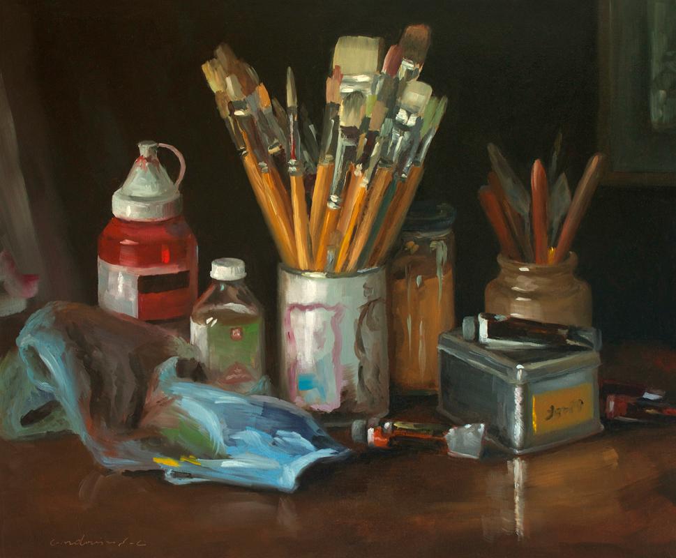 Le matériel du peintre