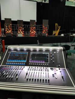 Digico S21 mixing desk