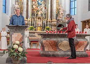Gottesdienste mit Gedächtnissen