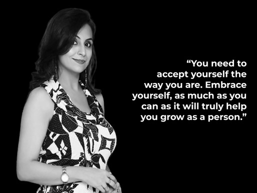 Pooja Malhotra : Get Unstuck, get going.