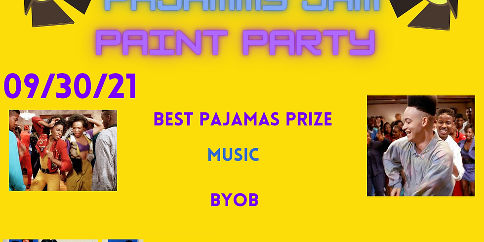 Pajammy Jam Paint Party!