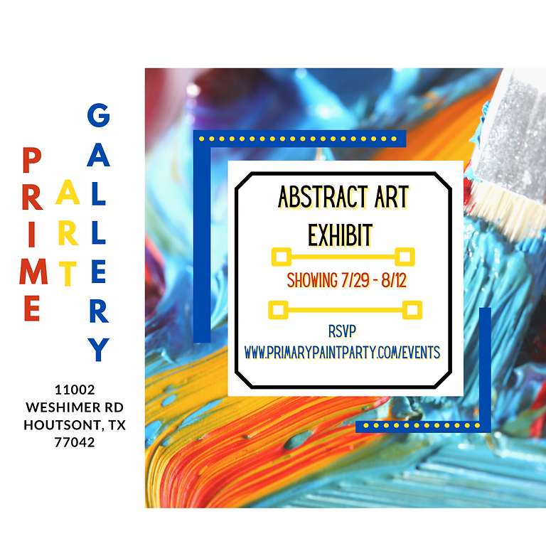 Abstract Art Exhibit