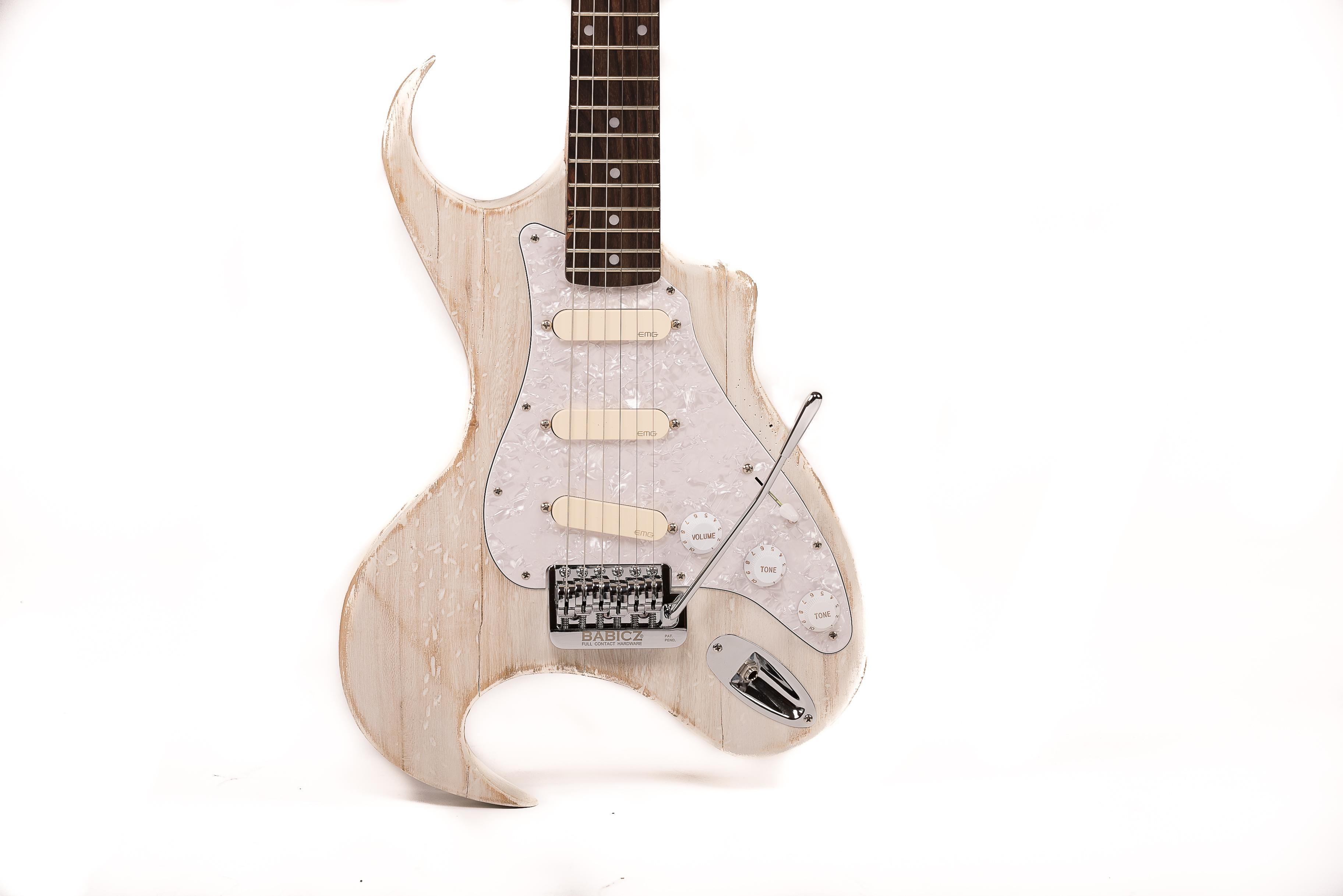 Little Fin Custom Hand Made Guitar