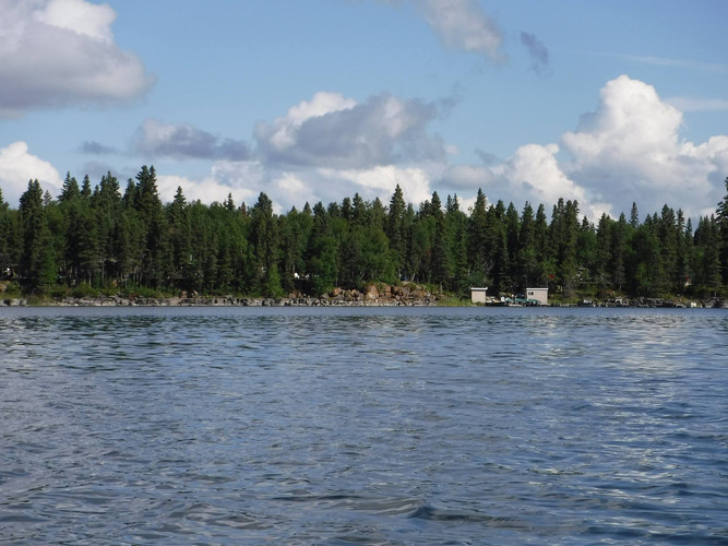 Cabin rental Fishing Lodge northern manitoba rocky Lake