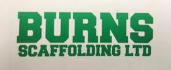 Burns scaffolding