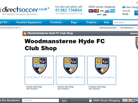 VISIT OUR CLUB SHOP