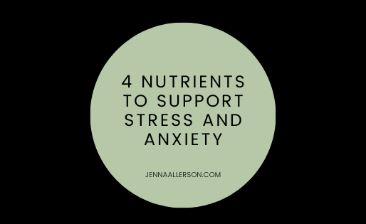 Support healthy stress levels with these four nutrients