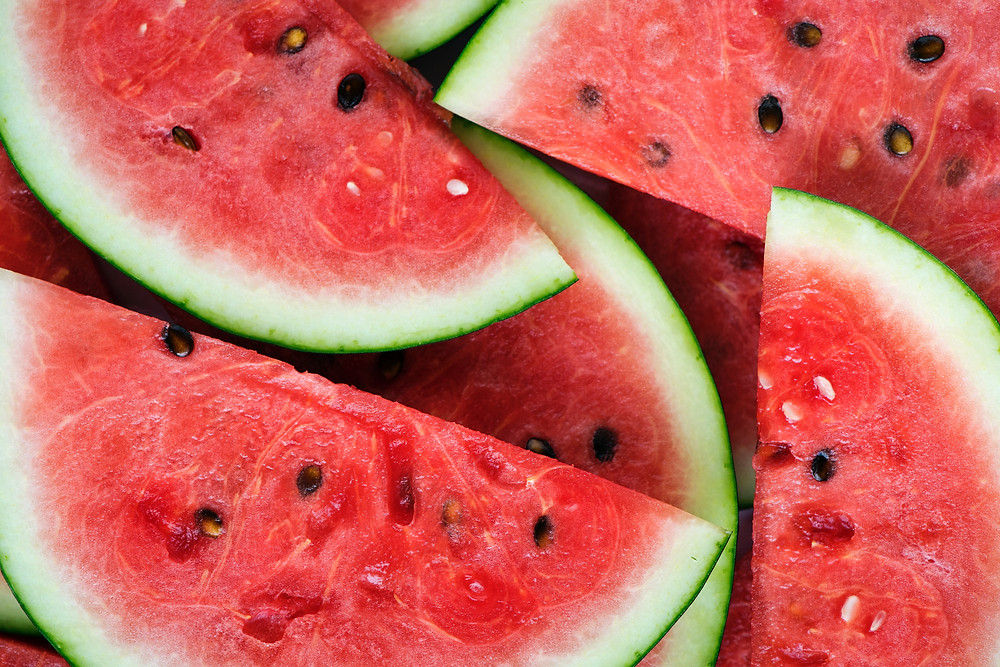 Picture of watermelon slices.