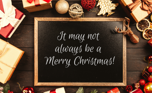 REAL TALK: It's not always a Merry Christmas