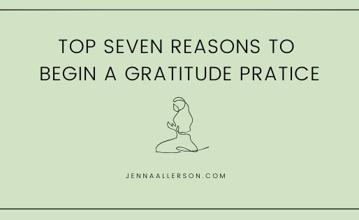 Overwhelmed? Practice gratitude.